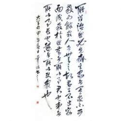中国书法家协会理事 毕政《大学句》