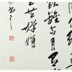 中国书法家协会理事 毕政《水调歌头(苏轼)》