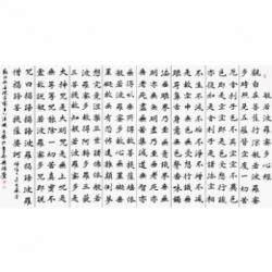 中国书法家协会理事 杨广馨《心经》