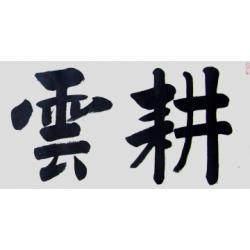 中国书法家协会会员 孟繁博《耕云种月》