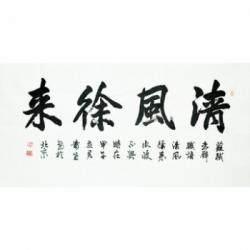 江西省书法家协会会员 邹贵生《清风徐来》