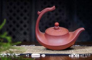 江山多娇-半提梁紫砂壶