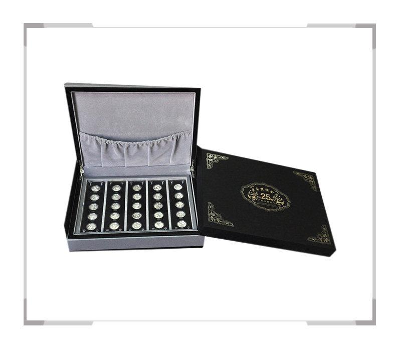 中国熊猫金币发行25周年纪念银币(银币套装)