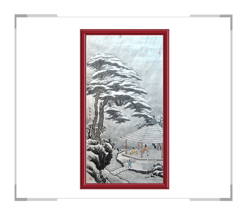第1款 季清龙作品 -风景动物挂画适用办公室客厅【大国工匠 翰墨天下】