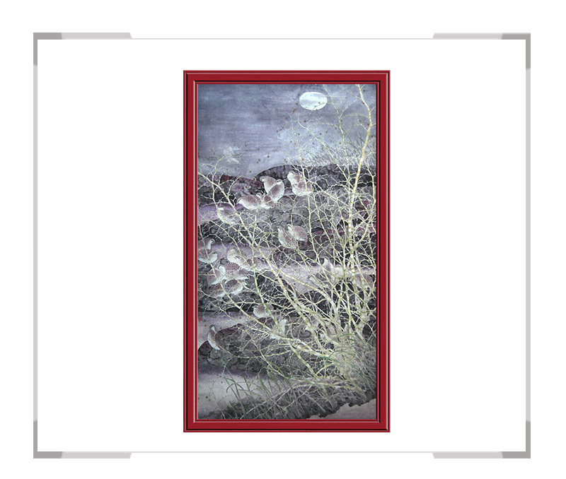 第2款 季清龙作品 -风景动物挂画适用办公室客厅【大国工匠 翰墨天下】