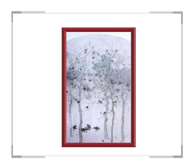 第3款 季清龙作品 -风景动物挂画适用办公室客厅【大国工匠 翰墨天下】