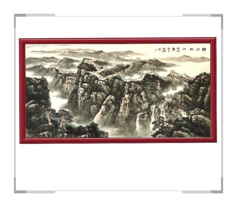 第一款 中国美术家协会会员程振铎横幅字画作品【大国工匠 翰墨天下】