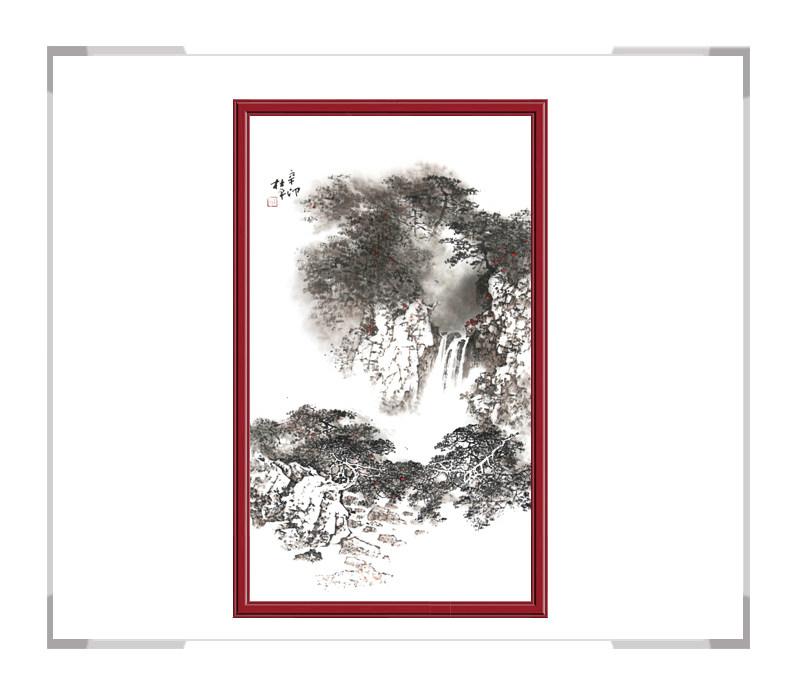 当代实力派画家杜平 竖幅山水第二款【大国工匠 翰墨天下】