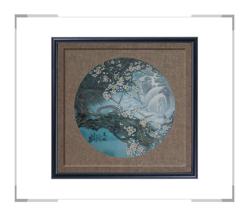 春讯-瓷板画-徐杰作品【大国工匠 瓷艺东方】