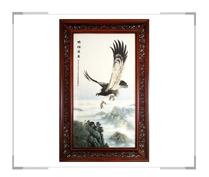 鹏程万里-瓷板画-徐杰作品【大国工匠 瓷艺东方】