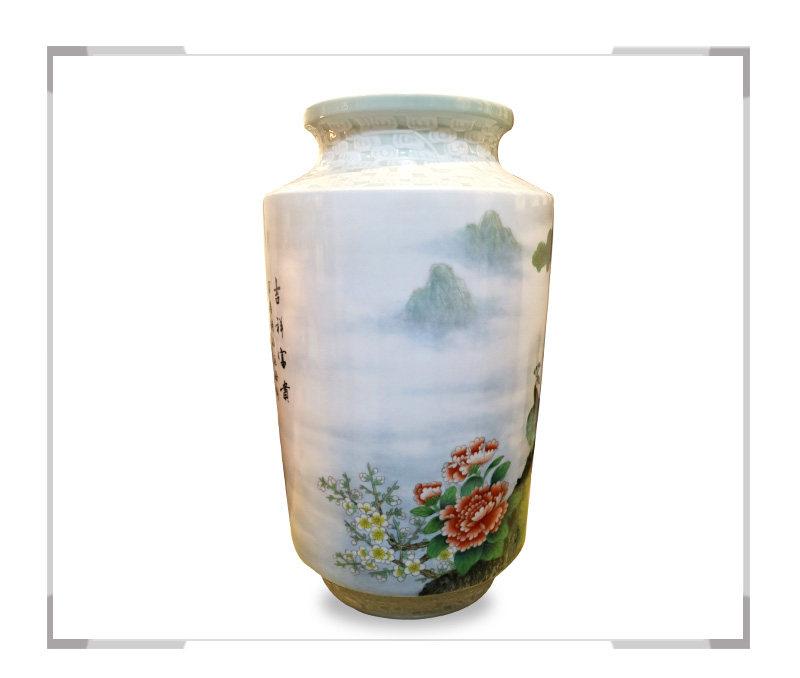 吉祥富贵-花瓶-徐杰作品【大国工匠 瓷艺东方】