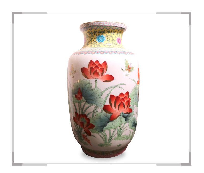 十里飘香-花瓶-徐杰作品【大国工匠 瓷艺东方】