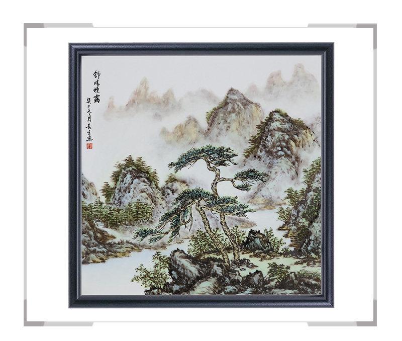 瓷板画-陈长生作品1【大国工匠 瓷艺东方】