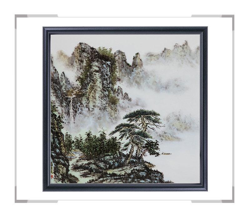 瓷板画-陈长生作品2【大国工匠 瓷艺东方】