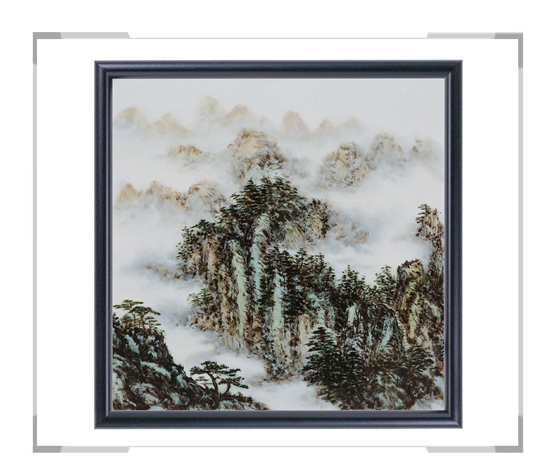 瓷板画-陈长生作品5【大国工匠 瓷艺东方】