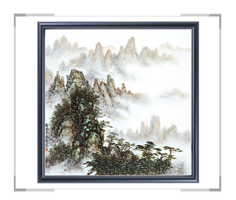 瓷板画-陈长生作品7【大国工匠 瓷艺东方】