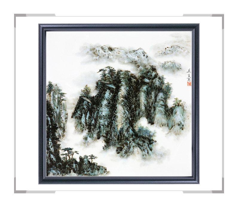 瓷板画-陈长生作品10【大国工匠 瓷艺东方】
