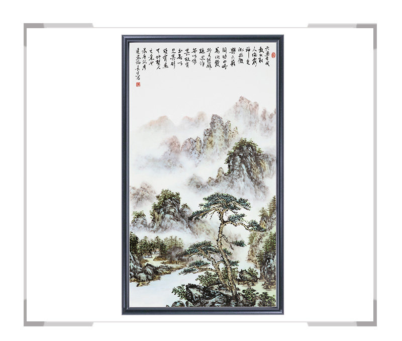瓷板画-陈长生作品14【大国工匠 瓷艺东方】