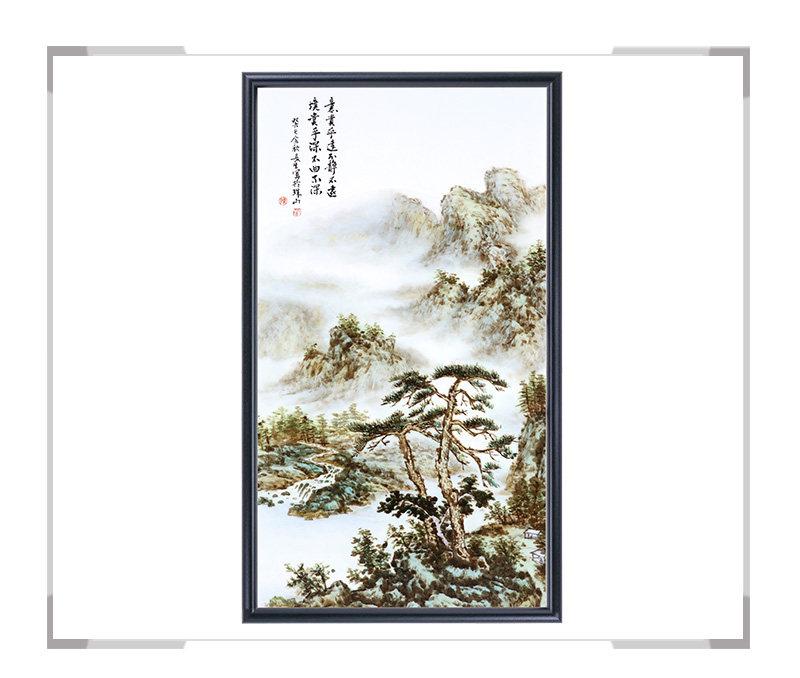 瓷板画-陈长生作品15【大国工匠 瓷艺东方】