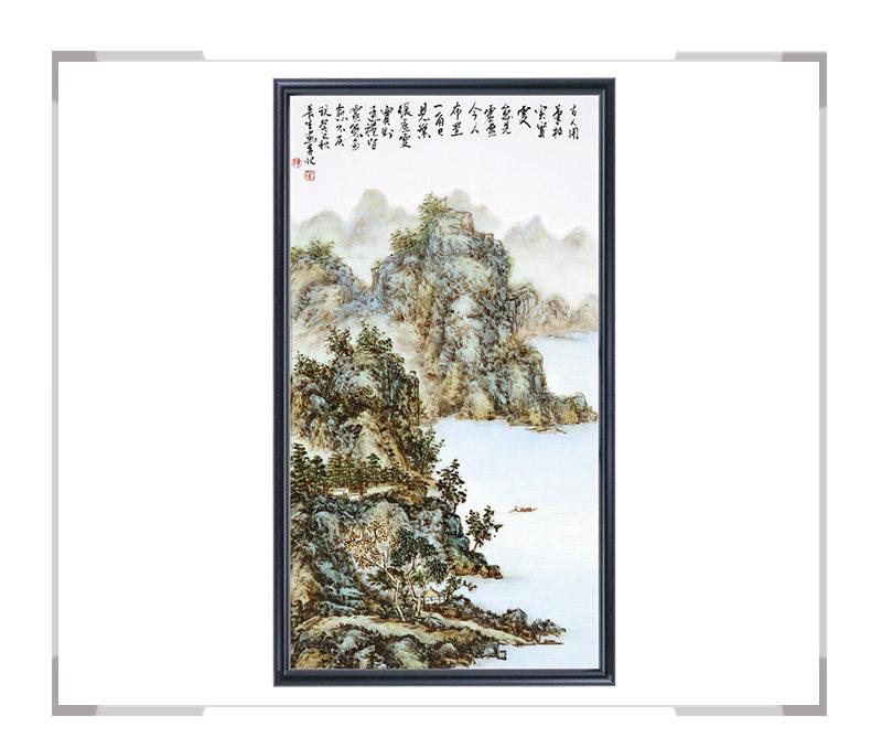 瓷板画-陈长生作品18【大国工匠 瓷艺东方】