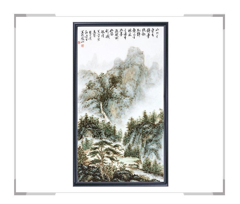 瓷板画-陈长生作品19【大国工匠 瓷艺东方】