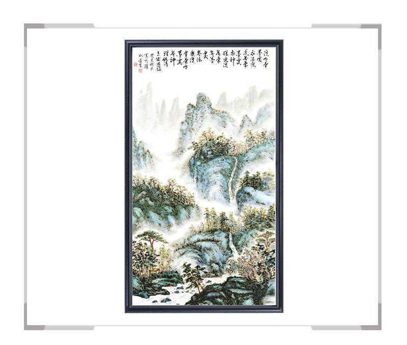 瓷板画-陈长生作品20【大国工匠 瓷艺东方】