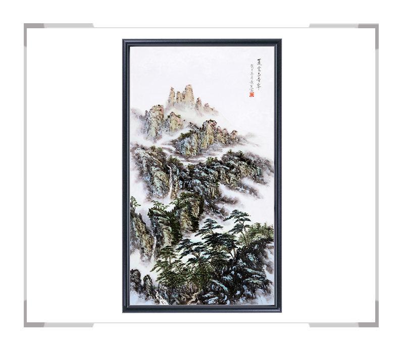 瓷板画-陈长生作品22【大国工匠 瓷艺东方】