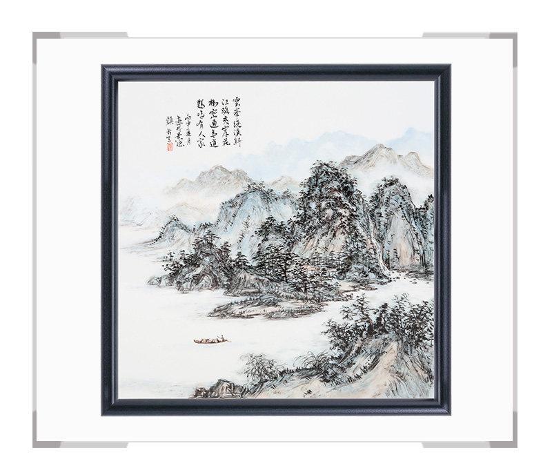 瓷板画-陈长生作品145【大国工匠 瓷艺东方】