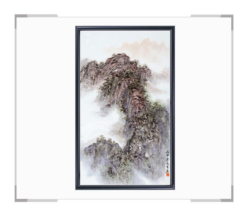 瓷板画-陈长生作品146【大国工匠 瓷艺东方】