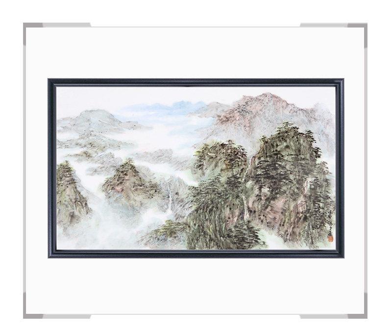 瓷板画-陈长生作品148【大国工匠 瓷艺东方】