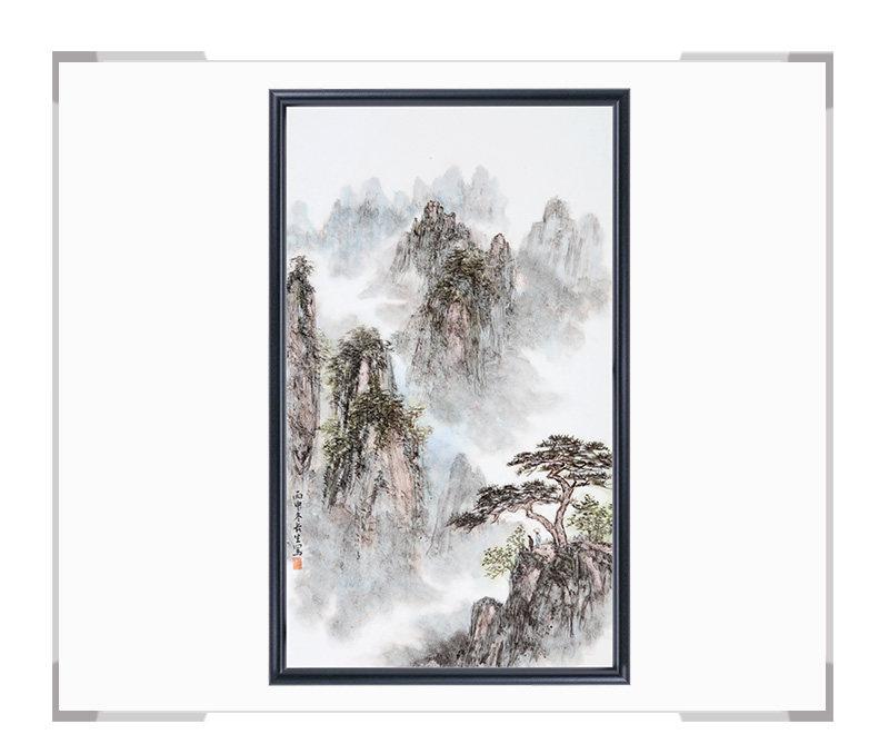 瓷板画-陈长生作品149【大国工匠 瓷艺东方】