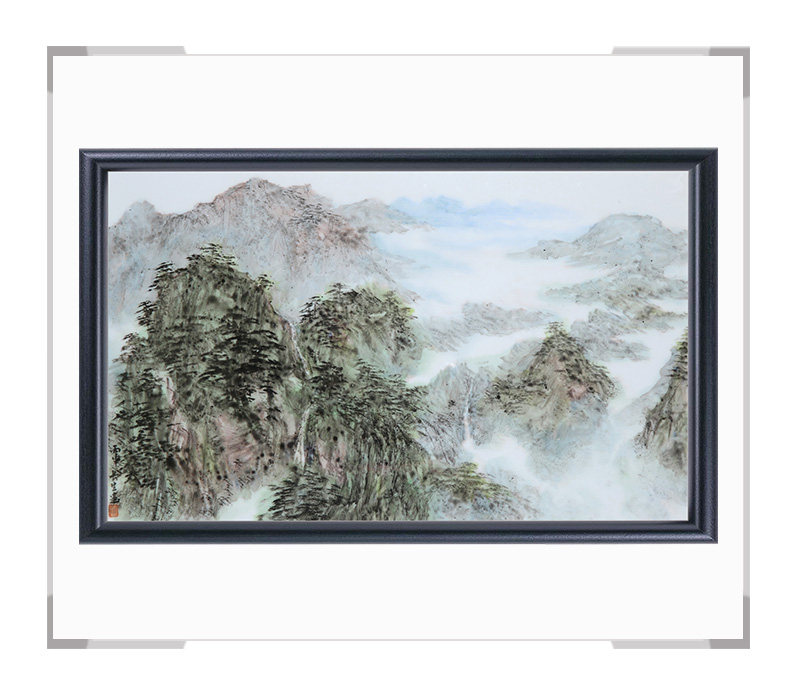 瓷板画-陈长生作品150【大国工匠 瓷艺东方】
