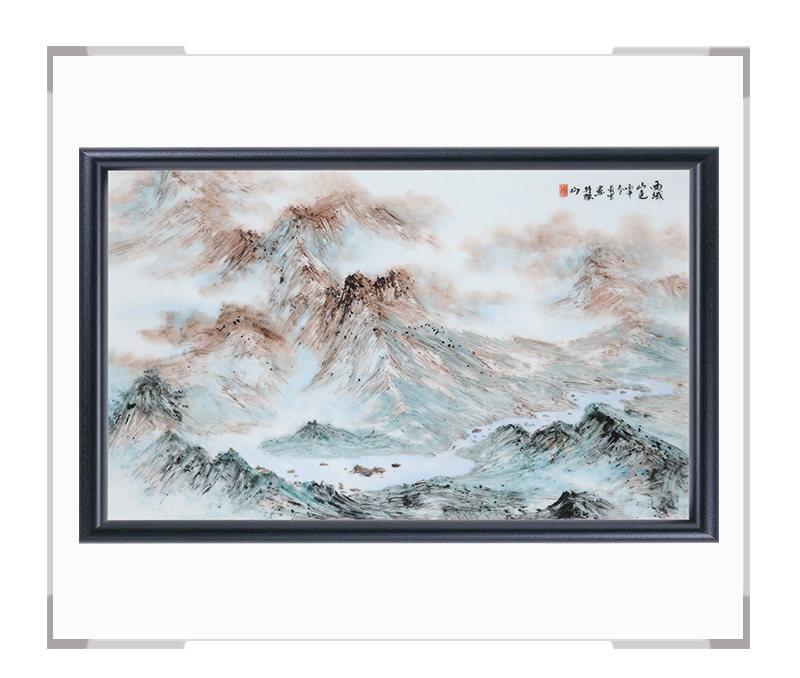瓷板画-陈长生作品151【大国工匠 瓷艺东方】