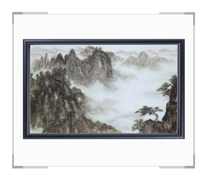 瓷板画-陈长生作品152【大国工匠 瓷艺东方】