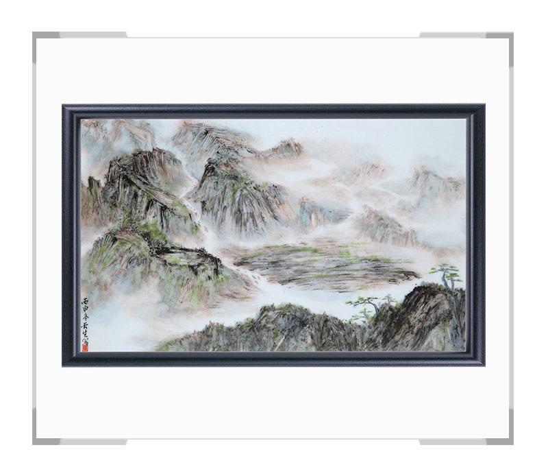 瓷板画-陈长生作品154【大国工匠 瓷艺东方】