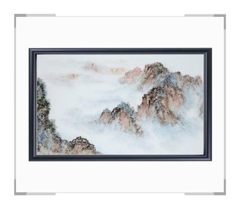 瓷板画-陈长生作品156【大国工匠 瓷艺东方】