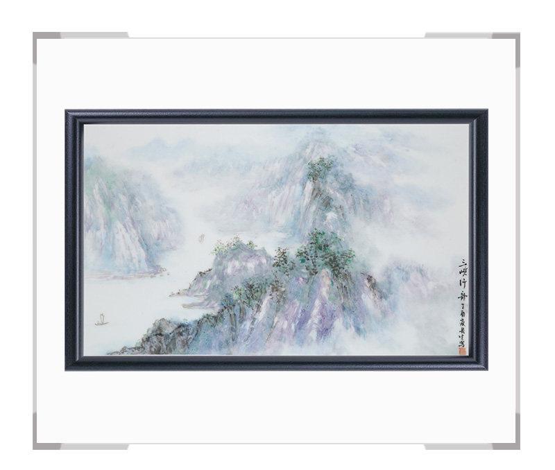 瓷板画-陈长生作品158【大国工匠 瓷艺东方】