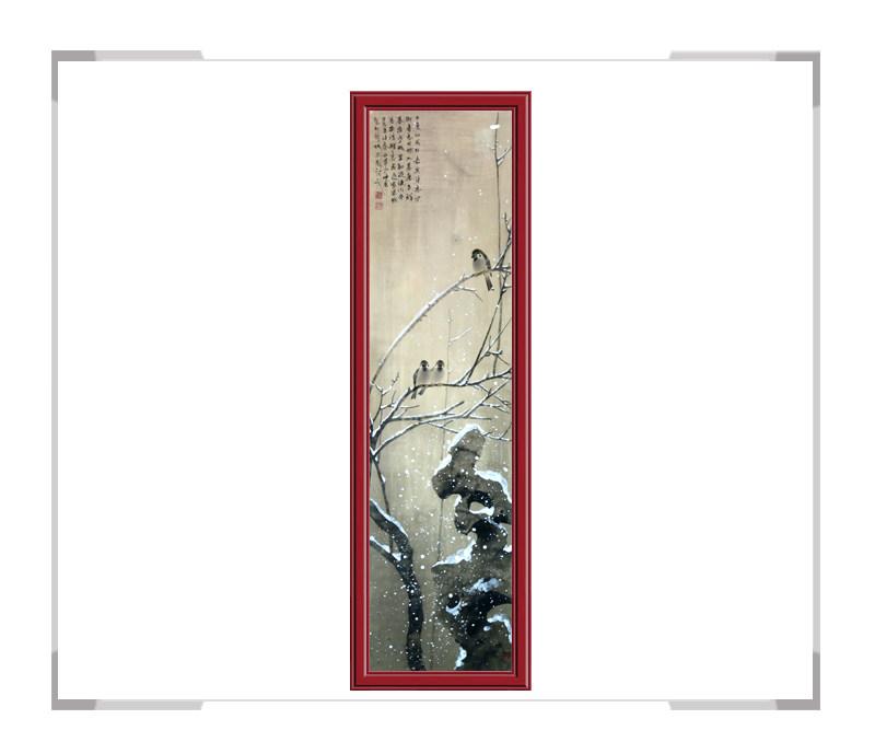 中国美术家协会刘晓东会员-花鸟竖幅作品第二款