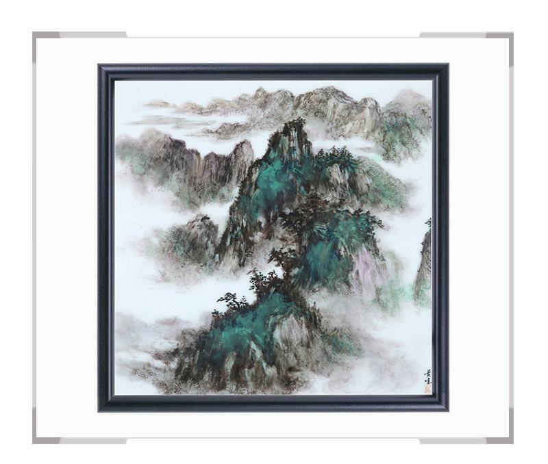 瓷板画-陈长生作品168【大国工匠 瓷艺东方】
