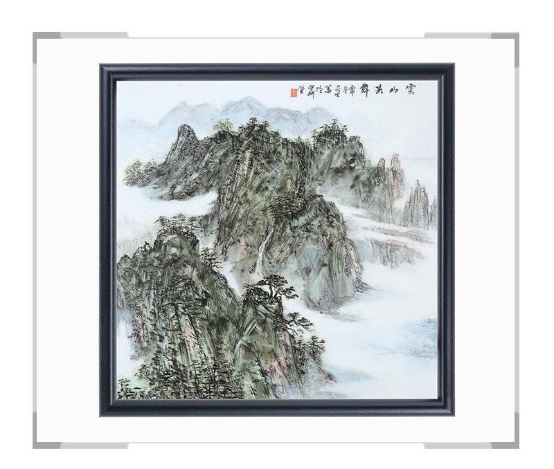 瓷板画-陈长生作品169【大国工匠 瓷艺东方】