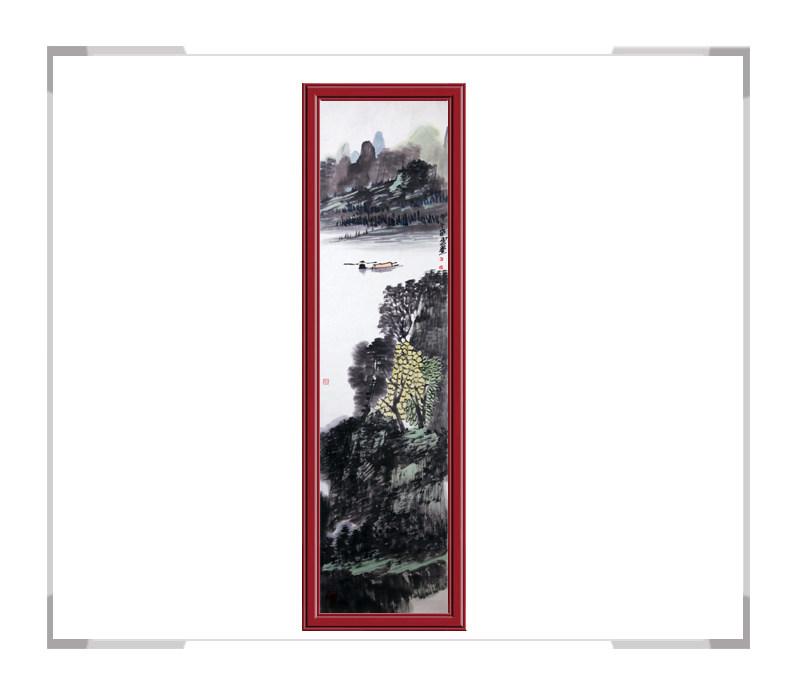 当代书画家刘云老师-山水竖幅作品第二款