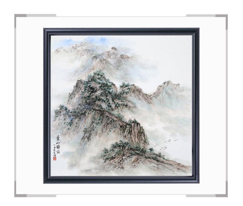 瓷板画-陈长生作品179【大国工匠 瓷艺东方】