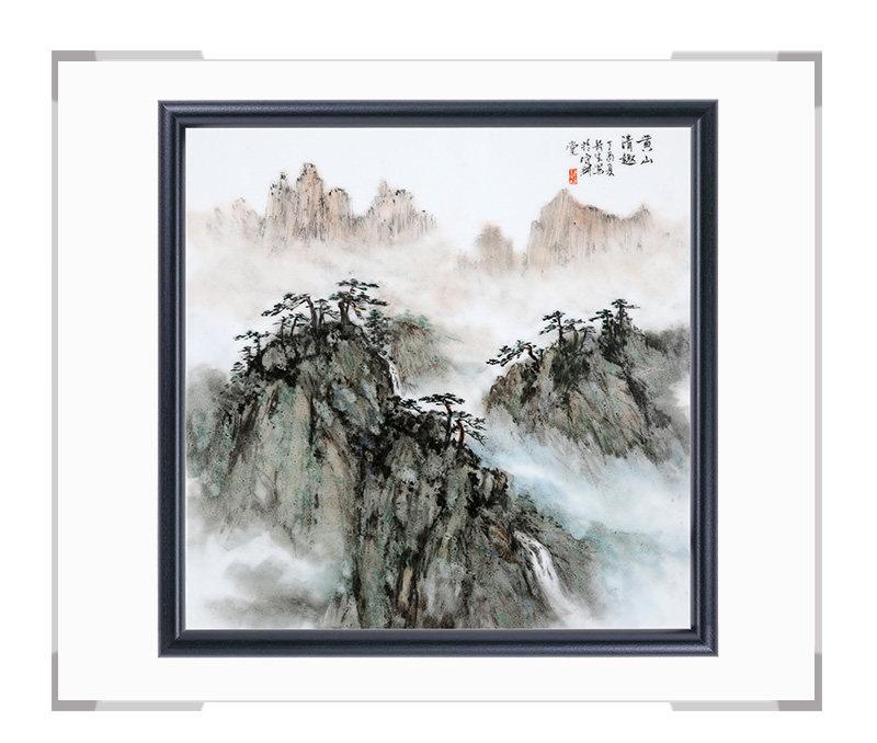 瓷板画-陈长生作品180【大国工匠 瓷艺东方】