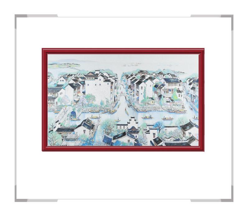 中国美术家协会卢德辉老师-彩色风景作品第一款