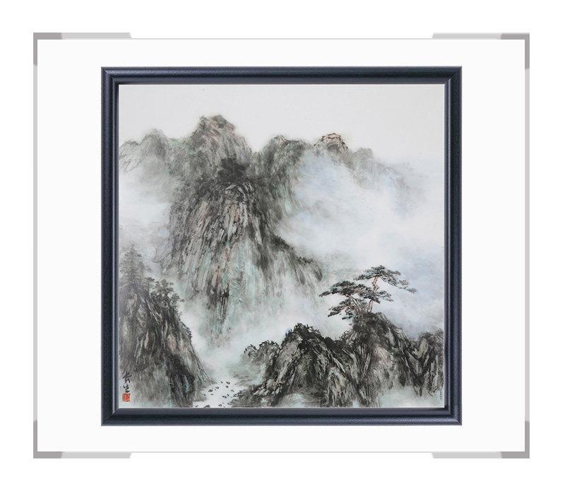 瓷板画-陈长生作品185【大国工匠 瓷艺东方】