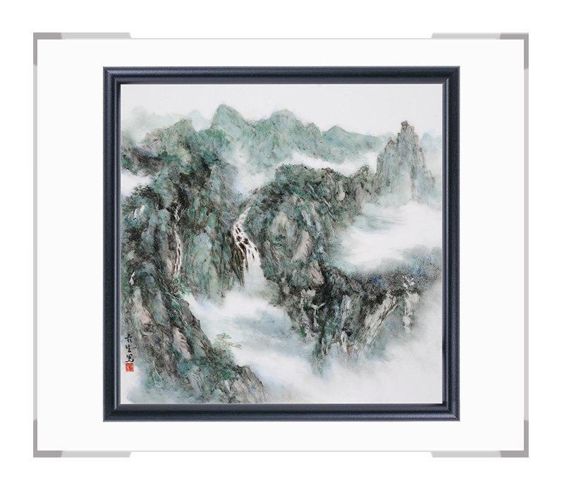 瓷板画-陈长生作品186【大国工匠 瓷艺东方】