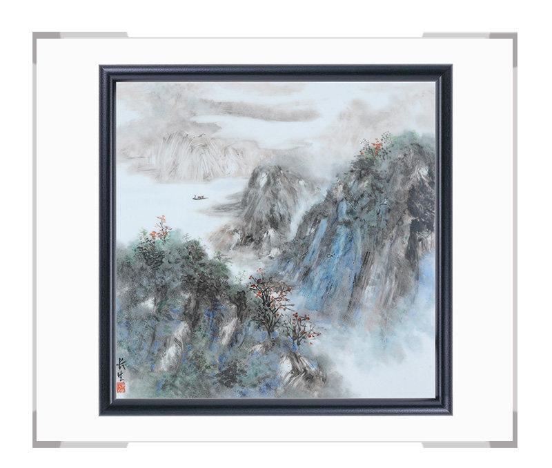 瓷板画-陈长生作品189【大国工匠 瓷艺东方】