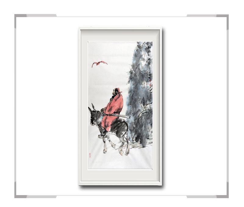 中国美术家协会会员穆晋国作品-竖幅人物画钟馗