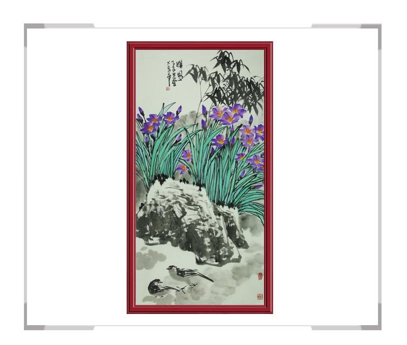 中国美术家协会会员吴泉棠老师-竖幅花鸟作品二