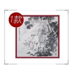 中国美术家协会会员王巨亭先生-斗方人物画作品二